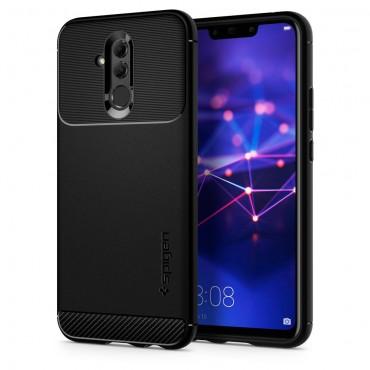 """Spigen """"Rugged Armor"""" védőtok Huawei Mate 20 Lite készülékekhez – fekete"""
