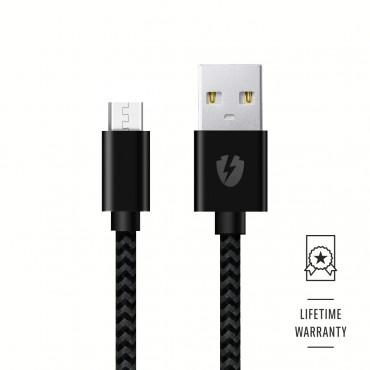 Optishield® THOR Micro USB kábel Kevlar és élettartam-garancia mellett - 1.2m