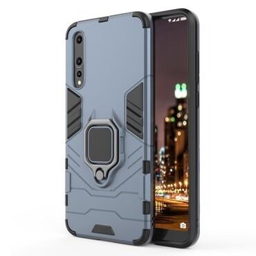 """Strapabíró """"Impact X Ring"""" védőtok Huawei P20 Pro készülékekhez – ezüstszínű"""