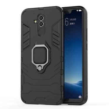 """Strapabíró """"Impact X Ring"""" védőtok Huawei Mate 20 Lite készülékekhez – fekete"""