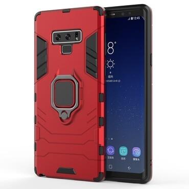 """Strapabíró """"Impact X Ring"""" védőtok Samsung Galaxy Note 9 készülékekhez – piros"""