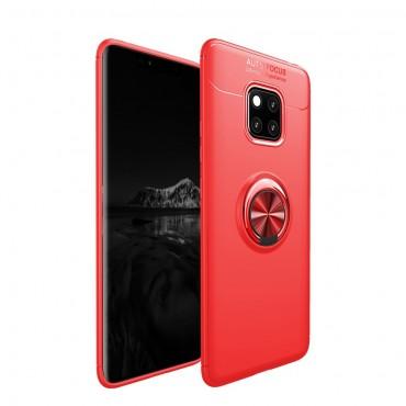 Multi Ring TPU géles védőtok Huawei Mate 20 Pro készülékekhez – rózsaszín