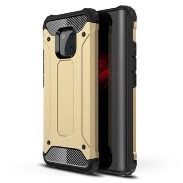 """Strapabíró """"Rock"""" védőtok Huawei Mate 20 Pro készülékekhez – aranyszínű"""