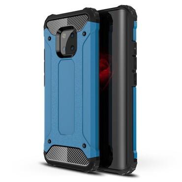 """Strapabíró """"Rock"""" védőtok Huawei Mate 20 Pro készülékekhez – kék"""