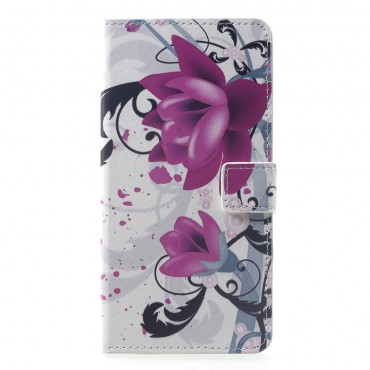 """Divatos """"Lotus Flower"""" tárca Huawei Mate 20 Pro készülékekhez"""