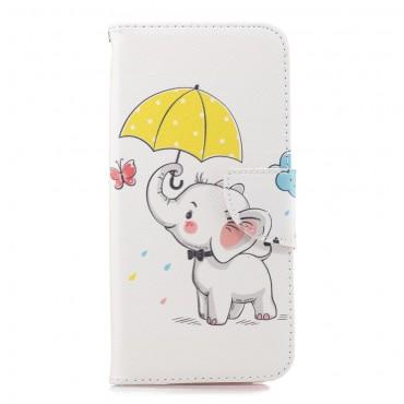"""Divatos """"Elephant"""" tárca Huawei Mate 20 Pro készülékekhez"""