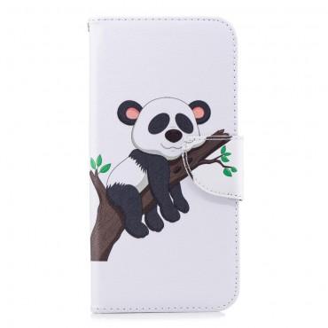 """Divatos """"Sleepy Panda"""" tárca Huawei Mate 20 Pro készülékekhez"""