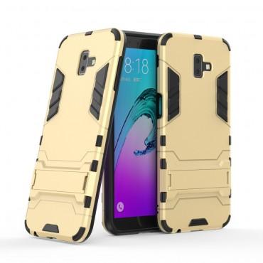 """Strapabíró """"Impact X"""" védőtok Samsung Galaxy J6 Plus készülékekhez - aranyszínű"""