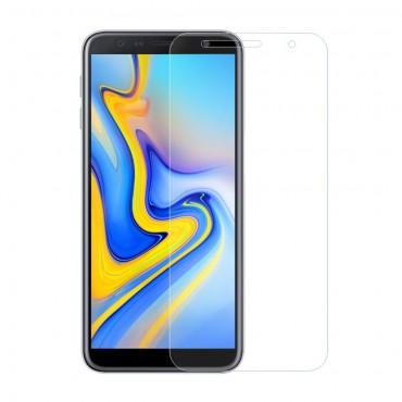 Minőségű 0.3 mm védőüveg Samsung Galaxy J6 Plus készülékekhez