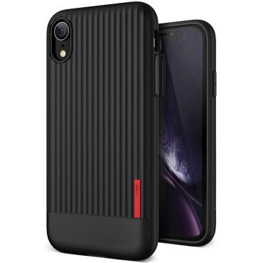 """VRS Design """"Single Fit"""" védőtok iPhone XR készülékekhez – black"""