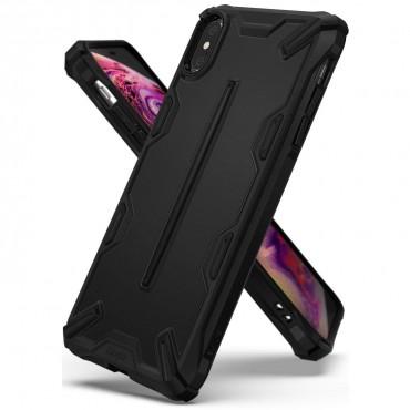 """Ringke """"Dual X"""" védőtok iPhone X / Xs készülékekhez - sf black"""