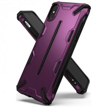 """Ringke """"Dual X"""" védőtok iPhone X / Xs készülékekhez - metallic purple"""
