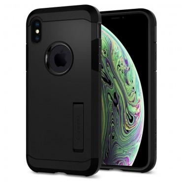 """Spigen """"Tough Armor"""" védőtok iPhone X / XS készülékekhez - black"""