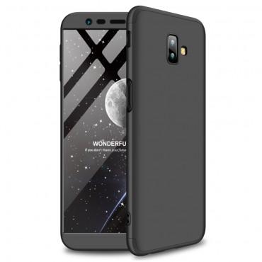 """Elegáns full body tárca """"Sleek"""" a Samsung Galaxy J6 Plus készülékhez - fekete"""