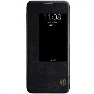 """Elegáns """"Qin"""" tárca Huawei Mate 20 Pro készülékekhez – fekete"""