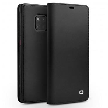 """Qialino """"Leather"""" prémium tárca Huawei Mate 20 Pro készülékekhez – fekete"""