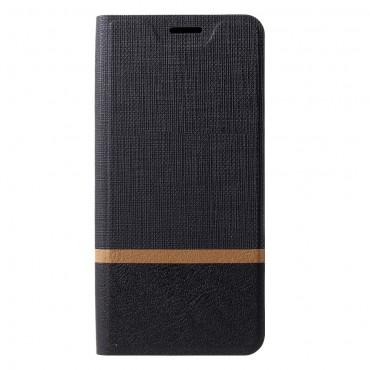 """Divatos """"Elegant Line"""" tárca Huawei Mate 20 Pro készülékekhez – fekete"""