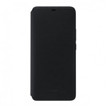 "Eredeti ""Flip Cover"" védőtok Huawei Mate 20 Pro - fekete"