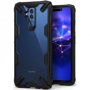 "Ringke ""Fusion X"" borító Huawei Mate 20 Lite telefonokhoz - black"