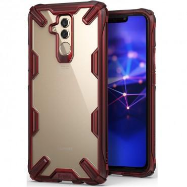 """Ringke """"Fusion X"""" borító Huawei Mate 20 Lite telefonokhoz - ruby red"""