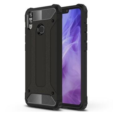 """Strapabíró """"Rock"""" védőtok Huawei Honor 8X készülékekhez - fekete"""