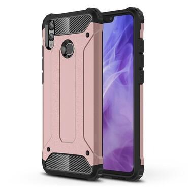 """Strapabíró """"Rock"""" védőtok Huawei Honor 8X készülékekhez - rózsaszín"""