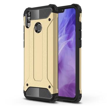 """Strapabíró """"Rock"""" védőtok Huawei Honor 8X készülékekhez - aranyszínű"""