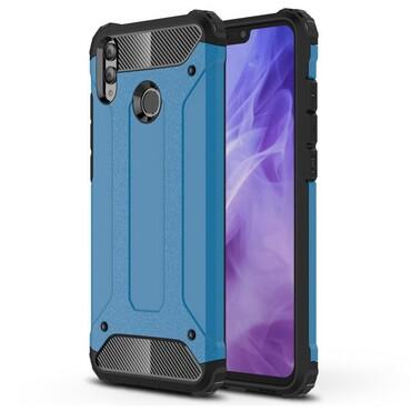 """Strapabíró """"Rock"""" védőtok Huawei Honor 8X készülékekhez - kék"""