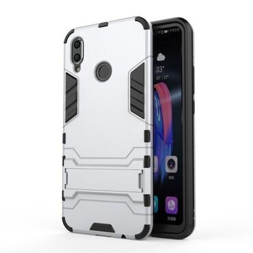 """Strapabíró """"Impact X"""" védőtok Huawei Honor 8X készülékekhez - ezüstszínű"""