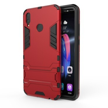 """Strapabíró """"Impact X"""" védőtok Huawei Honor 8X készülékekhez - piros"""
