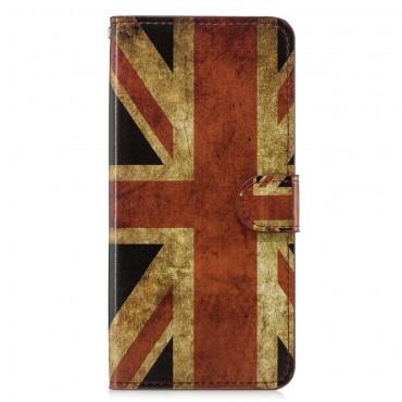 """Divatos """"Retro UK"""" tárca Huawei Honor 8X készülékekhez"""