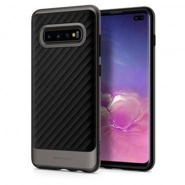 """Spigen """"Neo Hybrid"""" védőtok Samsung Galaxy S10 Plus készülékhez – gunmetal"""