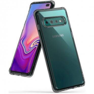 """Ringke """"Fusion"""" védőtok Samsung Galaxy S10 Plus készülékekhez - smoke black"""