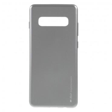 Goospery iJelly Case TPU géles védőtok Samsung Galaxy S10 Plus készülékekhez – szürke
