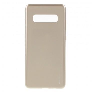 Goospery iJelly Case TPU géles védőtok Samsung Galaxy S10 Plus készülékekhez – aranyszínű