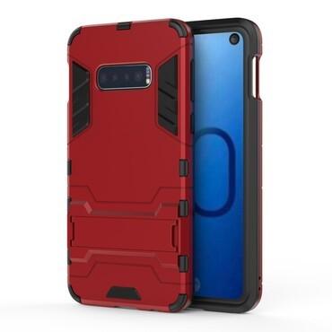 """Strapabíró """"Impact X"""" védőtok Samsung Galaxy S10e készülékekhez – piros"""