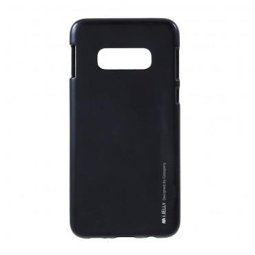 Goospery iJelly Case TPU géles védőtok Samsung Galaxy S10e készülékekhez – fekete
