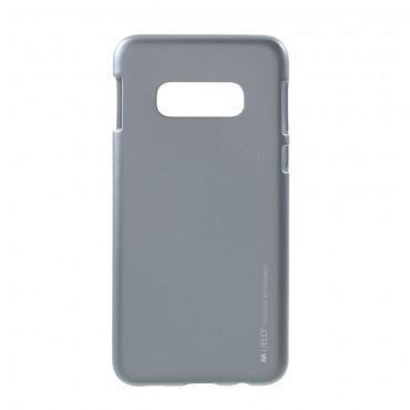 Goospery iJelly Case TPU géles védőtok Samsung Galaxy S10e készülékekhez – szürke