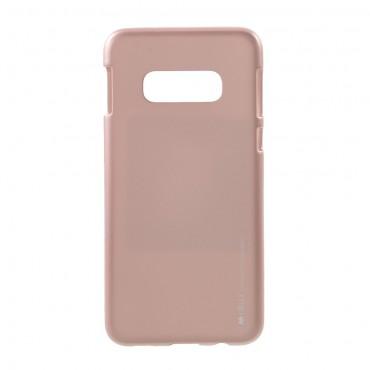 Goospery iJelly Case TPU géles védőtok Samsung Galaxy S10e készülékekhez - rózsaszín