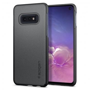 """Spigen """"Thin Fit"""" védőtok Samsung Galaxy S10e készülékhez – gray"""