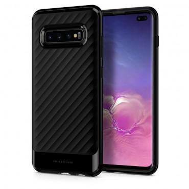 """Spigen """"Neo Hybrid"""" védőtok Samsung Galaxy S10 Plus készülékhez – black"""