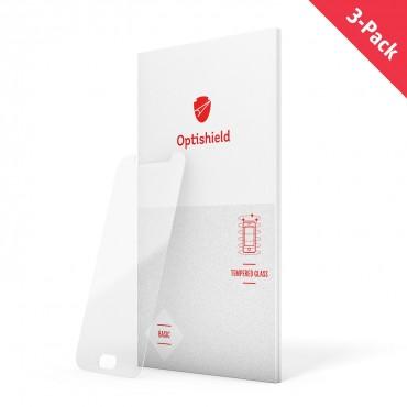 3-Pack üvegfólia Google Pixel 3 XL készülékekhez Optishield