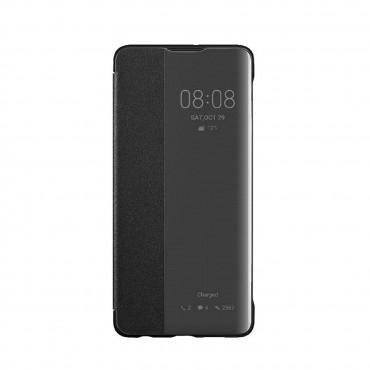 """Eredeti nyitható tok """"Smart Cover"""" Huawei P30 készülékekhez - fekete"""