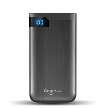 """Power bank Cager """"S100"""" - 10000 mAh - fekete"""