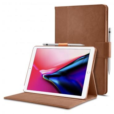 """Nyitható tok Spigen """"Stand Folio"""" iPad Pro 10.5 / iPad Air 2019 készülékekhez - brown"""