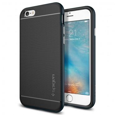 """Spigen SGP """"Neo Hybrid"""" védőtok iPhone 6 / 6S készülékekhez – metal slate"""