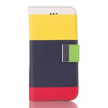 """Divatos nyitható tok """"Colour Touch 2"""" iPhone 6 / 6S készülékekhez"""